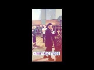 Conchita - London, Abbey Road Studios,