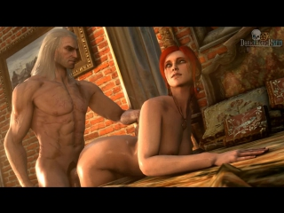 Divos studio | the witcher 3- секс в игре,все сцены  [+18]