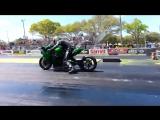 Kawasaki Ninja H2Rакета