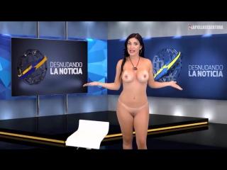 голая девушка в эфире