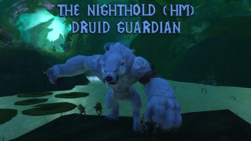The Nighthold HM (Guardian druid POV) \\ Цитадель Ночи ХМ (Друид- Страж)