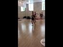 Вращение в аттитюд - Attitude Turn. Группа гимнасток-художниц 2010-2011 года