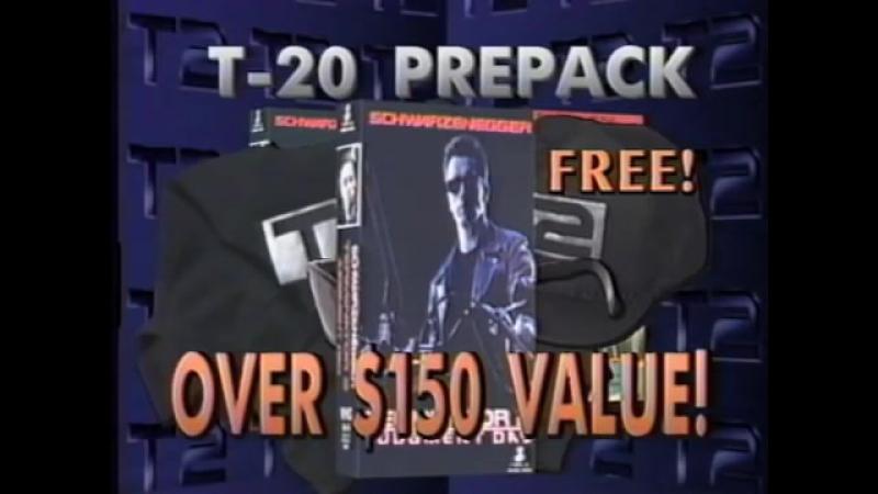 Promo_ TERMINATOR 2 on VHS
