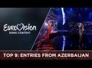 Top 9 Entries from Azerbaijan