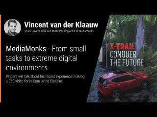 FMX 2017 - How Clarisse has changed MediaMonks' pipeline.