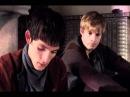 Merlin/Arthur (&Gwaine) AU - A Drop in the Ocean