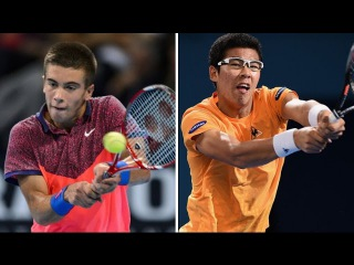 Borna Coric vs Hyeon Chung Highlights CHENNAI 2017