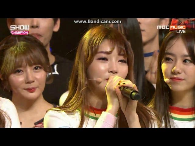 161026 I.O.I (아이오아이) - 1st Win