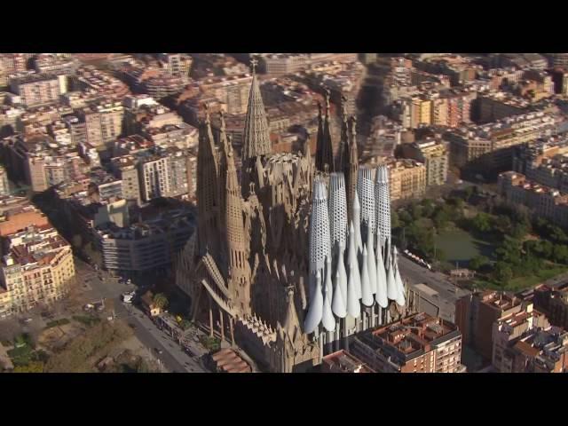 Etter 144 år med bygging vil Sagrada Família se slik ut