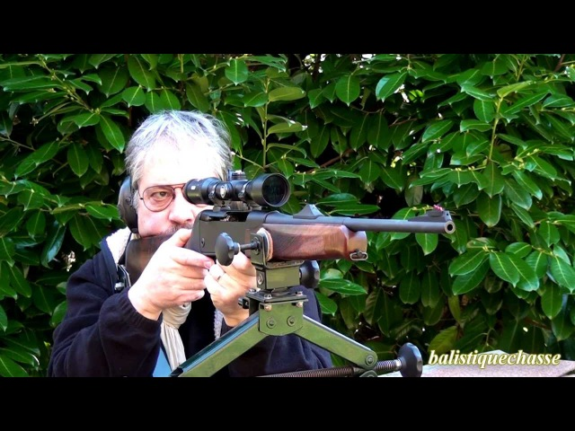 La carabine semi auto SLB 2000 Haenel calibre 300 Winchester Magnum