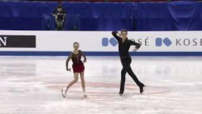Aleksandra BOIKOVA / Dmitrii KOZLOVSKII SP - 2017 WJC