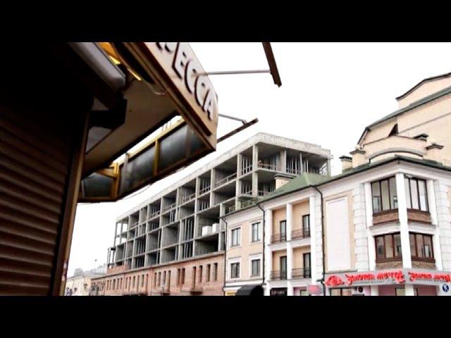 Элітны гатэль у цэнтры Берасця разбурае суседнія дамы | Отель в Бресте разрушает...