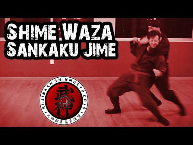 Ninjutsu   Shime Waza - Sankaku Jime