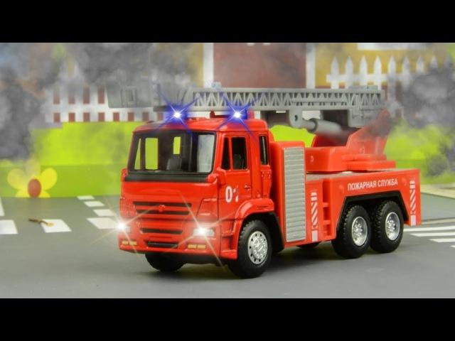СБОРНИК Трактор Павлик - Пожарная машинка тушит пожар - Развивающие видео для де...