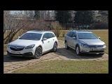 Volkswagen Passat Alltrack vs Opel Insignia Country Tourer. Тест драйв и обзор.