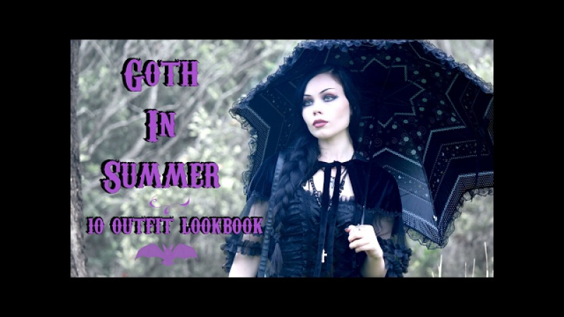 GOTH IN SUMMER '17 || 10 Outfit Lookbook - ReeRee Phillips