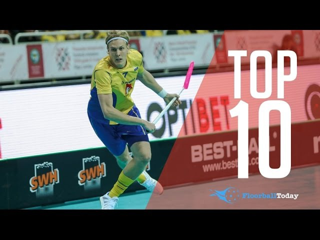 TOP 10 FLOORBALL PLAYERS IN THE WORLD