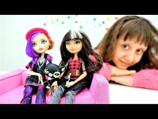 Куклы Эвер Афтер Хай в приюте для животных! Мультики для девочек. Видео про кукол