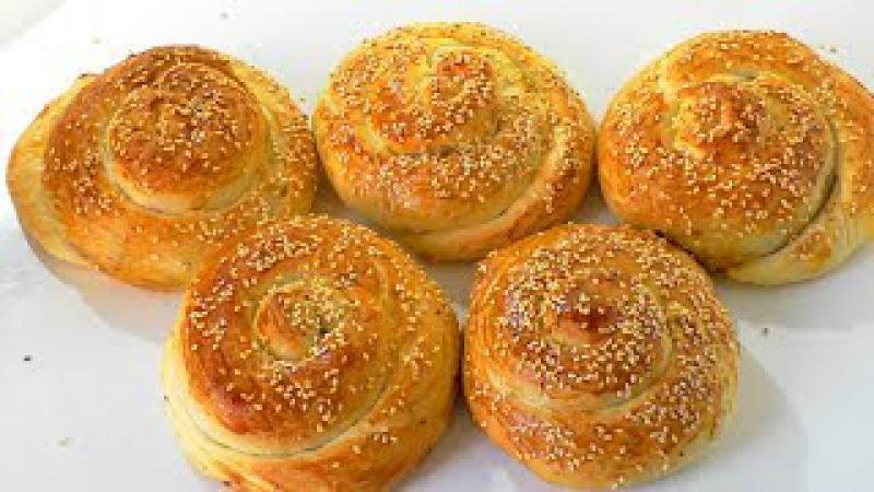 ТУРЕЦКИЕ ПИРОЖКИ АЧМА с картофелем. Turkish parma achma