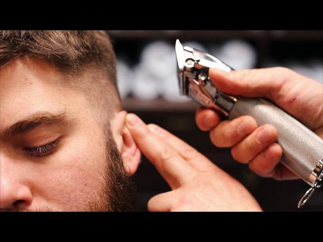 Урок 3 Сергей Рудницкий. Стрижка машинкой, комбинация насадки и расчёски