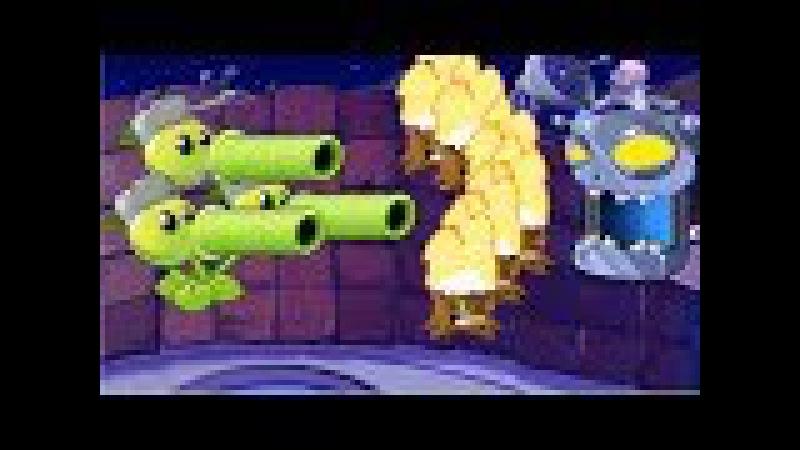 Plants vs Zombies Epic Hack - 1 Threepeater vs Torchwood vs Dr. Zomboss