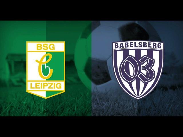 BSG Chemie Leipzig – SV Babelsberg 03