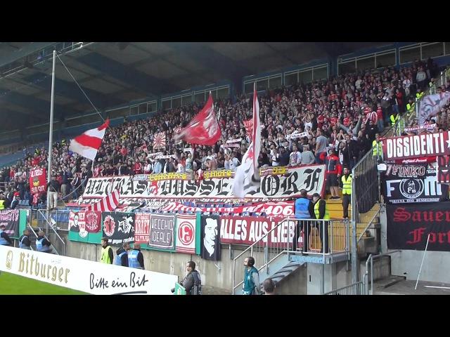 ULTRAS Support Zusammenschnitt   Arminia Bielefeld – Fortuna Düsseldorf   DFB Pokal 12.08.17 F95