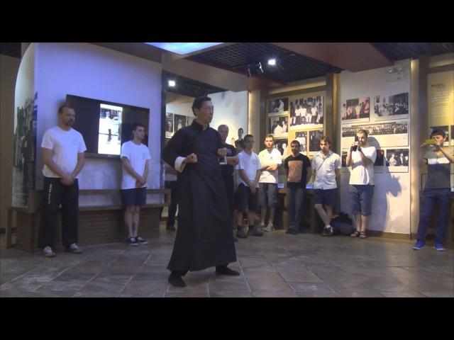 44 - Grandmaster Samuel Kwok performs Chum Kiu at Ip Man Tong