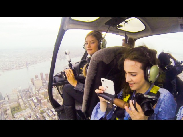 NYC HELICOPTER RIDE with iJustine !
