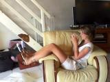 Ticklish Challenge for Eva