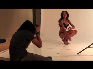 Herman V.Brandt Photography bts fashion photoshoot with model Godeliv