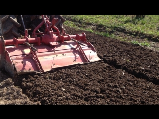Фрезерование почвы