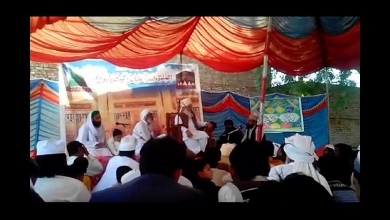 ALHAJ SYED MUHAMMAD SAEED UL HASSAN SHAH 02 ANNUAL MEHFAL MELAD MOLO ANI Fsd.