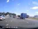 Авария на Орловском кольце 10.08.17 в 12 28