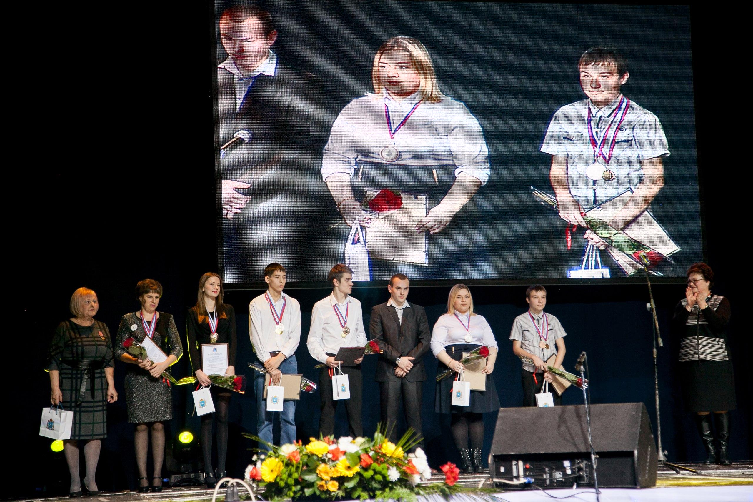 Награждение Игоря Калинина в МЛТ