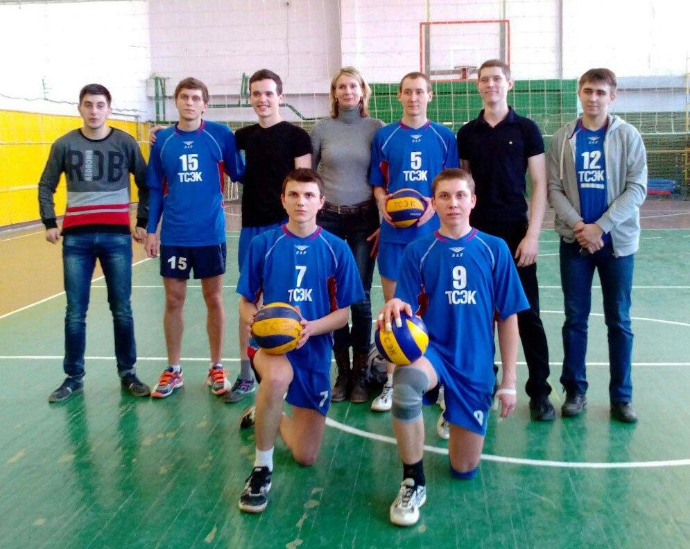 Волейболисты ТСЭК вышли на областной уровень
