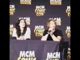 "Даниэла Руа и Эрик Кристиан Олсен на ""MCM Hannover Comic Con 2017""."