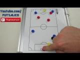 Как Должен Играть 1 ЗАЩИТНИК ПРОТИВ 2 НАПАДАЮЩИХ в Футзале  Мини-Футбол Футзал Тренировка Тактика