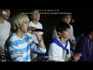 [KARAOKE] GOT7 - Forever Young (рус. саб)