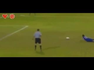 Хитрые голы в футболе (6 sec)