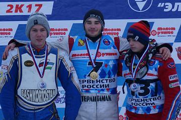 Житель Стерлитамака стал чемпионом России по мотогонкам на льду