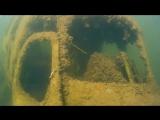 Затопленный вертолет (ДЦ Садко-Рязань Новомичуринск)