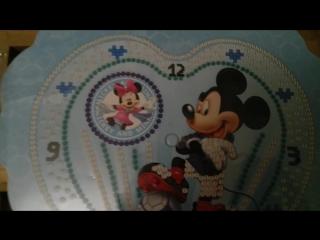 Детские часы с Микки Маусом