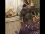 уникальные кадры с репетиции Михаила Галустяна с Рамзаном Кадыровым сценки для КВН