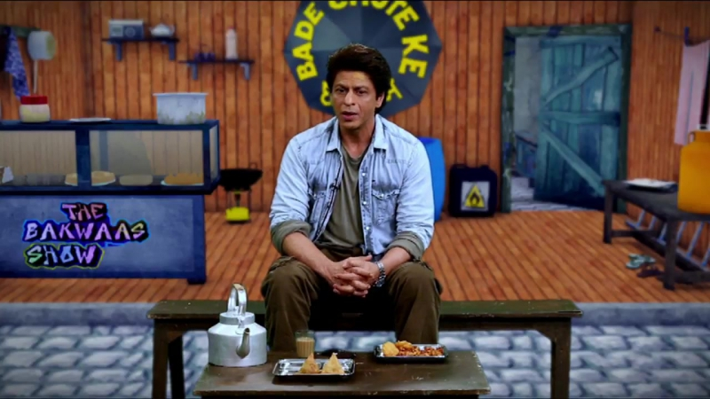 Watch what happened Jab Shah Rukh met Bade Chote ke Chaate mein. Watch to know more.