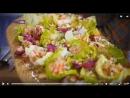 закуска из морепродуктов , кровавая мэри -Джейми Оливер
