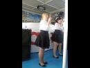 1 сентября 2017 года Теплоход Волга 2 Марина Бирваген и Анастасия Юденко