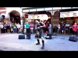 Крутой уличный музыкант - Epic street artist