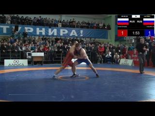 ГРАН ПРИ ПОДДУБНЫЙ 85 кг 1/4 ЧАКВЕТАДЗЕ - ЮСУПОВ