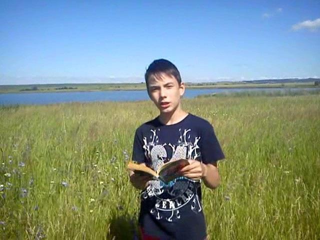 Андрей Озеров - участник конкурса чтецов книг В.Мегре